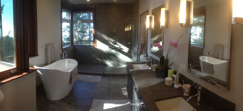 high end remodeled bathroom